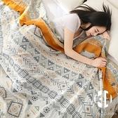 夏季薄款純棉紗布毛巾被子單人雙人辦公室空調蓋毯午睡沙發小毯子【Kacey Devlin】