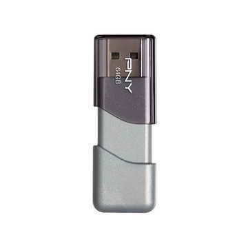 PNY Turbo Attache 3商務伸縮碟 64G ( PFD064TATT3-BR20 )