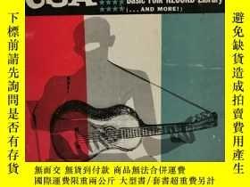二手書博民逛書店美國民間音樂罕見Folk Music USA (音樂)英文原版書
