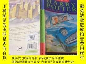 二手書博民逛書店harry罕見potter and the chamber of secrets: 哈利波特與密室!。Y200