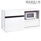 【德泰傢俱工廠】依莉莎白4尺餐櫃(木心板) A003-222-2