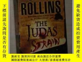 二手書博民逛書店英文原版罕見The Judas Strain by James