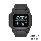 NIXON THE REGULUS 美國特種部隊軍事潛水錶 特種部隊錶 指定款 第二時區 美式風格 潛水錶 黑色