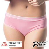 PolarStar 台灣 女 polartec® 高透氣排汗快乾三角內褲.透氣│無痕│彈性│運動│POLARTEC - P10177  粉紅