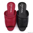 童鞋城堡-拉拉熊 成人款 室內拖鞋KM26133 紅/黑(共兩色)