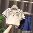 女童夏季套裝2021年新款夏裝童裝兒童短袖女孩衣服女寶寶運動休閒 蘿莉新品