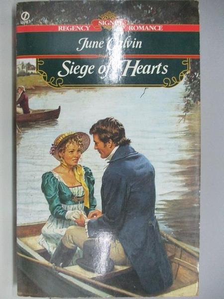【書寶二手書T1/原文小說_AEA】Siege of Hearts_June Calvin