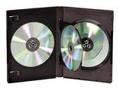 ◆全館免運費◆DigiStone 四片裝DVD光碟片精裝優質軟盒/鏡面黑色 25PCS