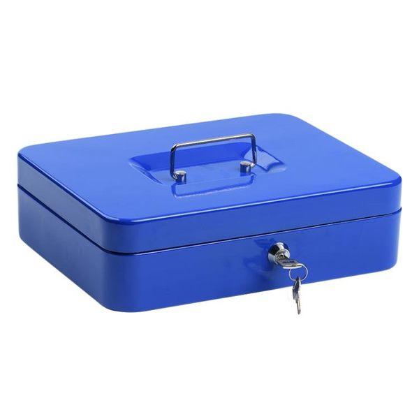 保險箱保險櫃手提錢箱密碼箱機械帶鎖【聚寶屋】