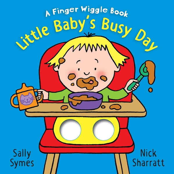 Little Baby's Busy Day:A Finger Wiggle Book 寶寶很忙手指遊戲書