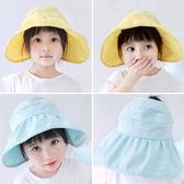 [輸入yahoo5再折!]Dear Ruby 兒童棉麻遮陽帽 白兔圖案防曬帽 童帽 DLC9431