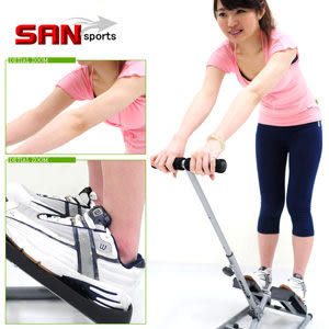 拉筋機│手足同享!!扶手拉筋板.踏步機.易筋板足筋板.美腿按摩器材哪裡買【SAN SPORTS】
