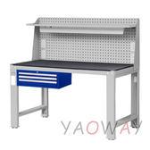 【耀偉】天鋼 吊櫃上架組(鋼製)工作桌WD-5803P6 (工作台,工業桌,機台桌)
