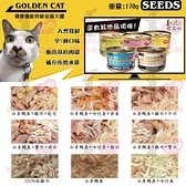 PRO毛孩王【單罐】SEEDS 惜時 特級 大金貓罐 特級金罐 大金 貓罐 貓罐頭170g