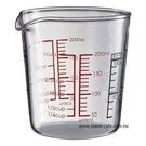 金時代書香咖啡 CafeDe Tiamo 玻璃量杯 (小) 200ml HG2111