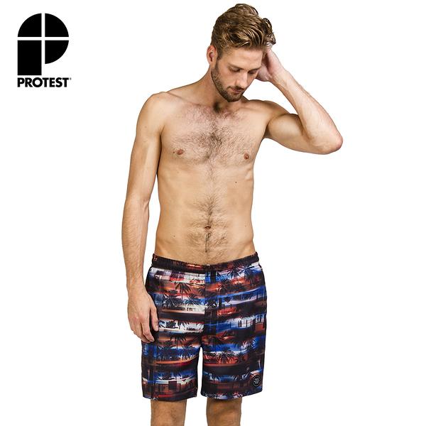 PROTEST 男 海灘褲 (亮猩紅) PATROL BEACHSHORT