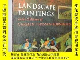 二手書博民逛書店Landscape罕見Paintings in the Coll