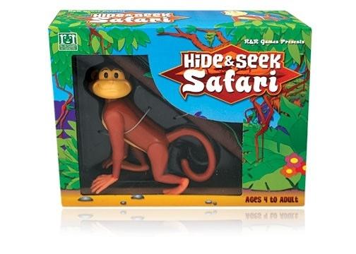 [楷樂國際] 捉迷藏之非洲狩獵-猴子 Hide & Seek Safari - Monkey #R&R Games 桌遊