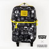Levis 男女同款 後背包 / Snoopy限量系列 / 滿版印花