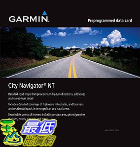 [106美國直購] 2017美國暢銷軟體 Garmin City Navigator for Detailed Maps Italy and Greece (microSD/SD Card)