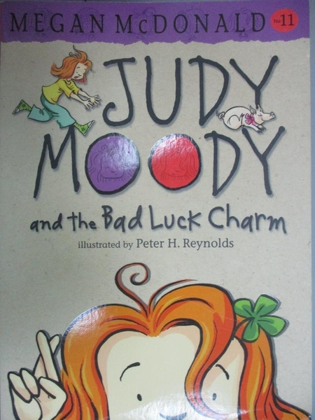 【書寶二手書T6/原文小說_OHT】Judy Moody and the Bad Luck Charm_Megan Mc