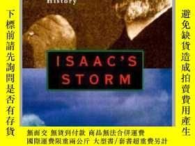 二手書博民逛書店Isaac s罕見Storm : A Man, a Time, and the Deadliest Hurrica