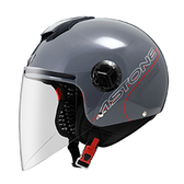 【東門城】ASTONE CJ500 素色(水泥灰) 3/4半罩式安全帽