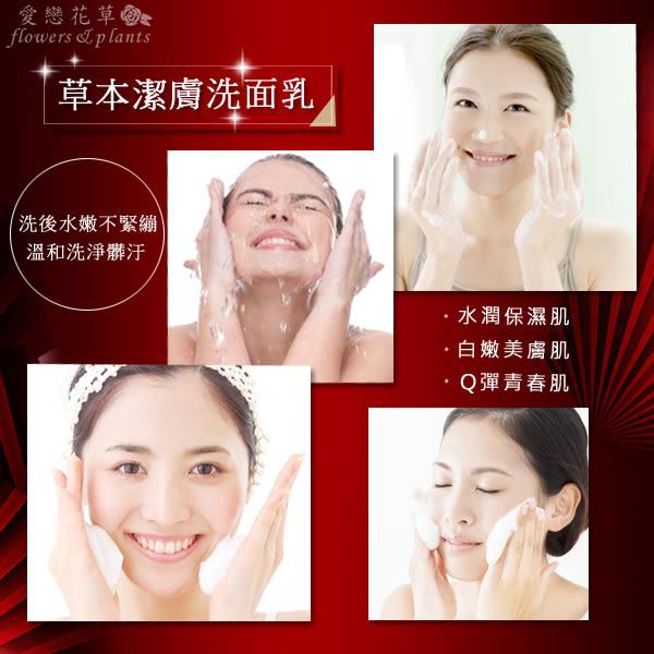 【愛戀花草】Q10+熊果素 美白淨斑亮顏洗面乳《150ML/四瓶組》