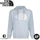 【The North Face 男 長袖針織帽T《淡藍》】497I/T恤/休閒長袖/休閒長袖