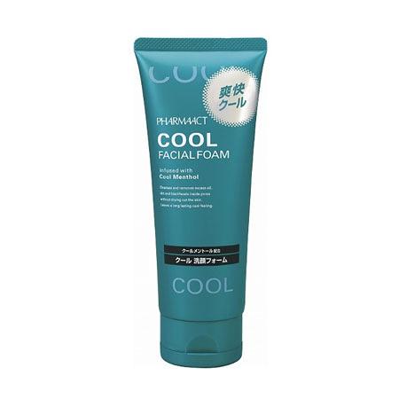 日本 熊野油脂 Pharmaact勁涼洗面乳 130g 清涼感 潔面乳 洗顏乳 洗面乳 洗臉 清潔