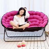 懶人沙發雙人布藝小戶型客廳小沙發椅單人陽臺折疊靠背椅榻榻米『CR水晶鞋坊』igo