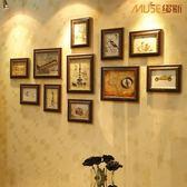 相框牆 家居飾品 沙發照片牆 歐式環保相框創意組合 復古相片牆創意 MKS年終狂歡