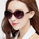 墨鏡女潮明星同款眼鏡新款狐貍頭網紅太陽鏡圓臉韓國復古眼鏡【免運直出】