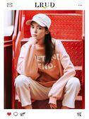 LRUD大學T女2018秋冬新款韓版套頭長袖學生外套寬鬆字母圓領上衣潮