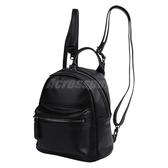 Converse 後背包 Mini PU Backpack 女款 小包包 隨身包 雙肩背 皮質 黑 【PUMP306】 10007563A02