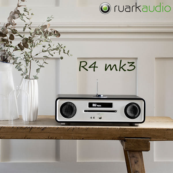 Ruark R4 mk3 藍牙無線 Hi-Fi 音響 多功能主動式喇叭 支援USB 可聽FM廣播 可撥CD高音質串流