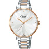 ALBA雅柏 Fashion 幾何造型女錶-36mm VJ21-X144KS(AVH8571X1)
