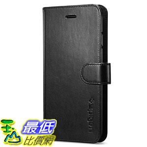 [106美國直購] Spigen Wallet S iPhone 7 Case with Foldable Cover and Kickstand Feature for iPhone 7 黑棕兩色