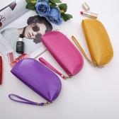 女士隨身化妝包小號洗漱包網紅手機零錢包便攜化妝品收納袋ins手抓包