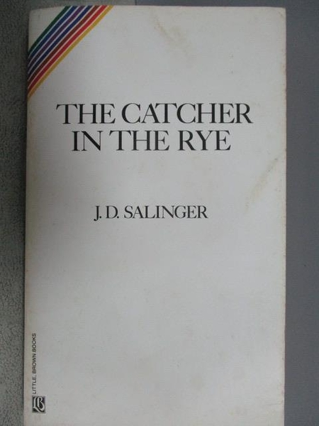 【書寶二手書T6/原文小說_COA】The Catcher in the Rye_J.D.Salinger