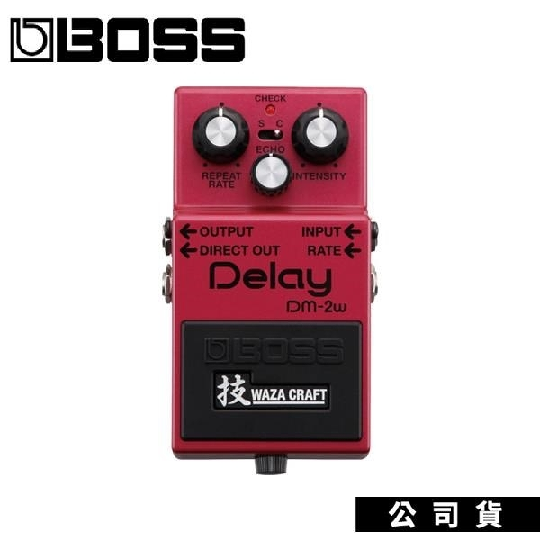 【南紡購物中心】吉他效果器 Roland Boss Delay DM-2W WazaCraft特別版 延遲效果