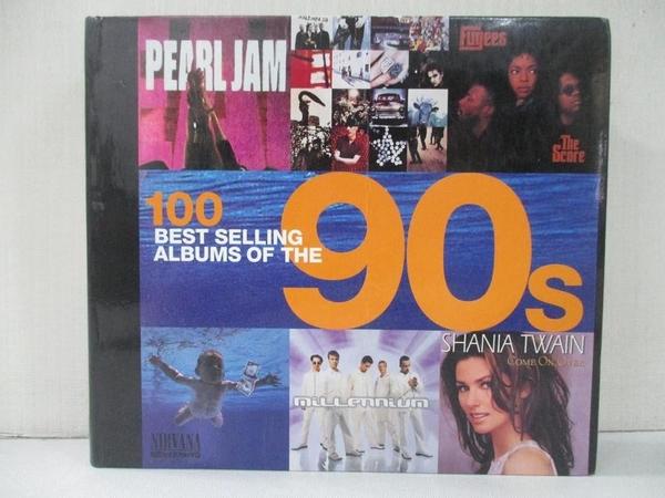 【書寶二手書T8/音樂_ANG】100 Best Selling Albums of The 90S_Konemann