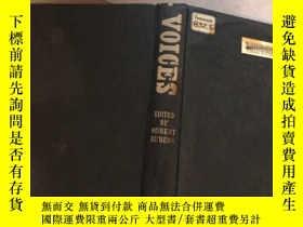 二手書博民逛書店VOICES罕見EDITED BY ROBERT RUBENSY214704 出版1963