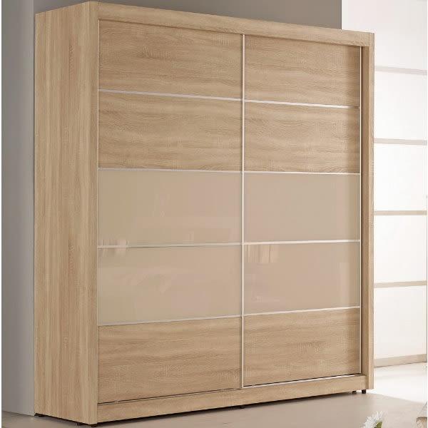 衣櫃 衣櫥 MK-076-3 格瑞斯5尺拉門衣櫥 【大眾家居舘】