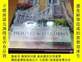 二手書博民逛書店Painting罕見Houses and Gardens in