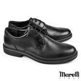 【marelli】Casual核心氣墊經典紳士鞋 黑色(40130-BL)