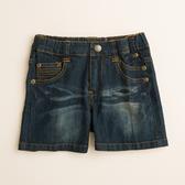 【金安德森】KA黃繡線造型牛仔短褲