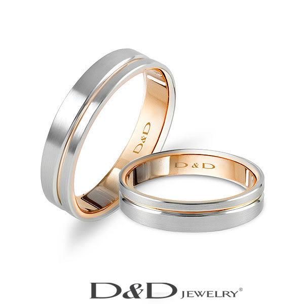 D&D 婚戒 對戒 女戒 典藏 II  鉑金極簡設計
