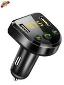 車載MP3 藍芽播放器音樂u盤式充電器接收器免提電話汽車用 快速出貨