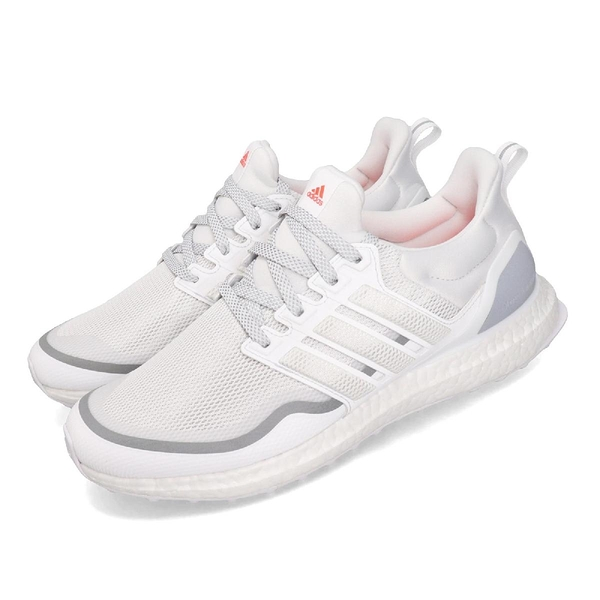 【五折特賣】adidas 慢跑鞋 UltraBOOST Reflective 白 灰 男鞋 反光設計 運動鞋 【ACS】 EG8104